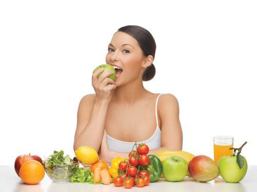 Chế độ ăn kiêng giảm mỡ bụng cho nữ trong 2 tuần