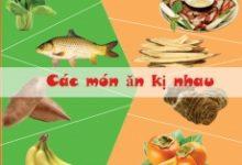 Top 8 Loại thực phẩm kỵ nhau, các mẹ nên lưu ý